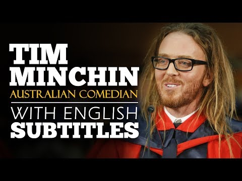 ENGLISH SPEECH | TIM MINCHIN: 9 Life Lessons (English Subtitles)