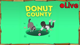 Donut County + Minecraft Mini-games - • Live