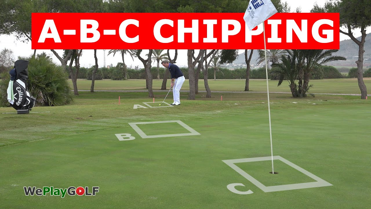 Improve your chipping with the ABC chipping drill