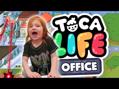 Adley App Reviews | Toca Life Office | family pretend play controlled by game master