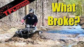 7. How has a Four-Year Old Yamaha Kodiak 700 Held Up? We Hit the Mud and Find Out!