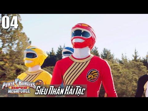 Phim Siêu Nhân Hải Tặc (Super Megaforce) Tập 4: Gao Sư Tử Xuấn Hiện - Thời lượng: 23:04.