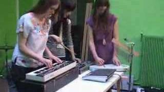 Au Revoir Simone - Dark Halls (Inrocks Session #7)