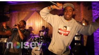 "Pusha T feat. Tyler the Creator - ""Trouble On My Mind"" (Live)"