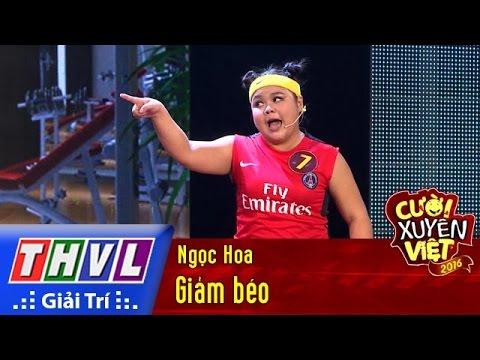 Cười xuyên Việt 2016 Tập 3 - Giảm béo - Ngọc Hoa
