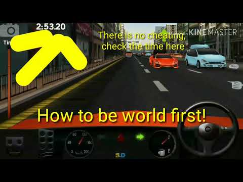 Dr driving hack!!  Hacking dr driving 120 speed at beginning