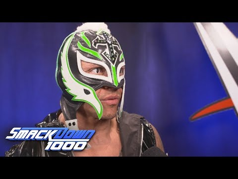 Rey Mysterio Reacts To His Epic Return: SmackDown 1000 Exclusive, Oct. 16, 2018