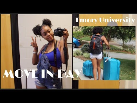 Move In Day Vlog: Emory University