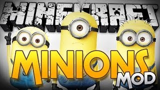 Minecraft | MINIONS MOD - Be an Evil Master! (Mod Showcase)