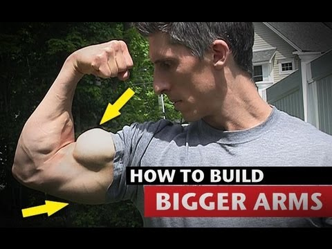 BICEPS - How to Get Big Arms - http://athleanx.com/x/getbigarms Most guys that workout want to know how to get big arms. The problem is that they wind up doing hours ...