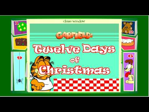 Garfield's 12 Days of Christmas - All 12 Days!