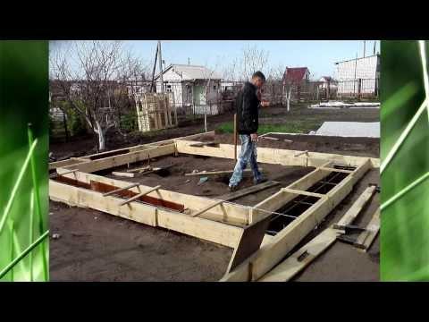 Строю домик на даче.как построить домик из газобетона.