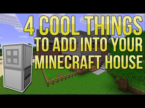Cool Buildings Minecraft Minecraft 4 Cool Things to