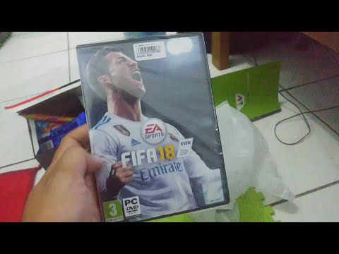 Unboxing FIFA 18 PC Edition(fisik CD)