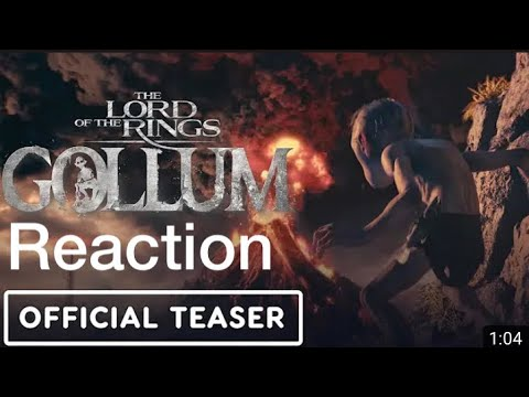 GOLLUM Teaser Trailer Reaction