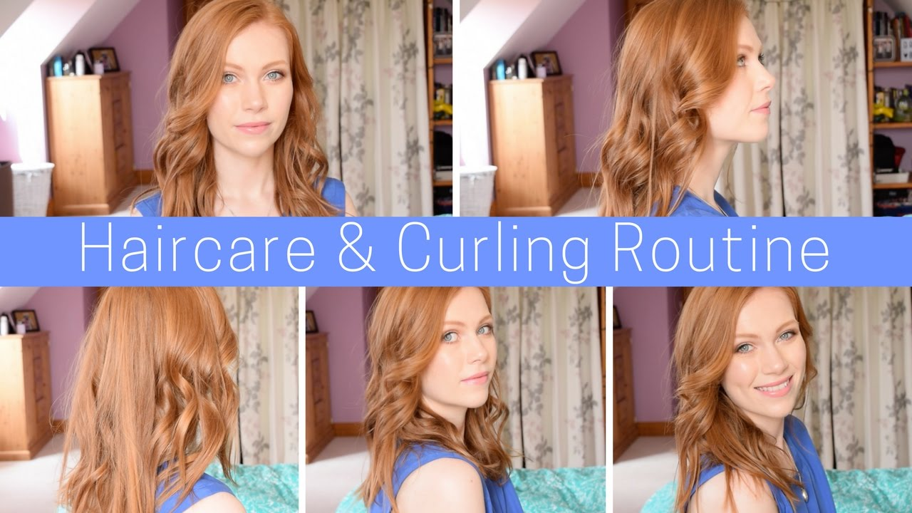 Cruelty Free Redhead Haircare & Curling Routine   Simply Redhead