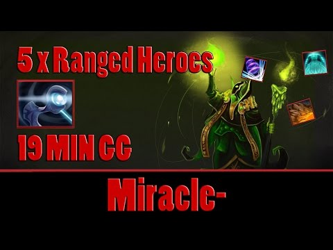 Dota 2 - Miracle- plays Rubick, 19 MIN GG - Ranked