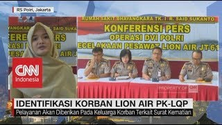 Video Identifikasi Korban Lion Air JT-610 Dihentikan Pada 23 November MP3, 3GP, MP4, WEBM, AVI, FLV November 2018
