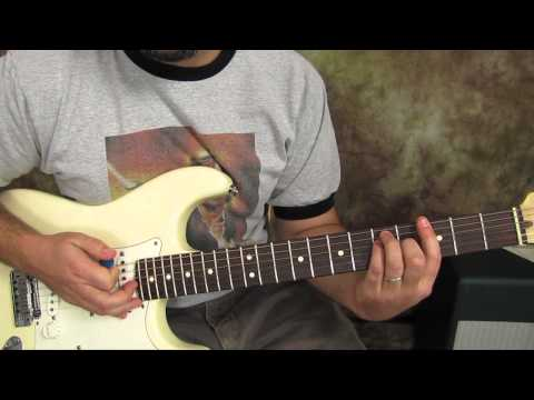 U2 – Sunday Bloody Sunday – Guitar Lessons – How to Play on Guitar – Fender Strat