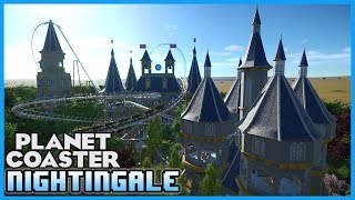 Place-able medieval/fantasy coaster blueprint. Great at night and day time. both the entrance and exit runs over the bridge, best to use grid pathing around the shops. There is some minor terraforming involved if you want to put in the moat around the castle.Created by syncrosEnjoyed the video? Leave a Tip!: https://www.paypal.com/cgi-bin/webscr?cmd=_s-xclick&hosted_button_id=DFULK9FT3WTJLBecome a Patron & Earn Monthly Rewards!: https://www.patreon.com/Channel5GamingLink to Download Nightingale: http://steamcommunity.com/sharedfiles/filedetails/?id=971745378Link to syncros's workshop: http://steamcommunity.com/profiles/76561198362059174/myworkshopfiles/?appid=493340JOIN OUR PLANET COASTER DISCORD COMMUNITY! It's Simple! Download the FREE Discord App on PC or Mobile then add friend: Channel5 Gaming#0054Once I accept (within 24 hours) send me a link to your steam workshop!SPOTLIGHT SUBMISSIONS: Use this form: https://goo.gl/forms/gGjaYTEsGRdl2ghA2Follow me on STEAM workshop!: http://steamcommunity.com/id/Channel5Gaming/myworkshopfiles/?appid=493340Please like my facebook page!: https://www.facebook.com/Channel5-Gaming-1252547981438360Follow me on Twitter: https://twitter.com/Channel5GamingLive on Twitch TV: http://www.twitch.tv/jonny_fivealiveContact Info: Channel5GAD@gmail.com(GAD = Game, Art, & Design)NIGHTINGALE! Medieval Fantasy Coaster! Coaster Spotlight 206 #PlanetCoaster