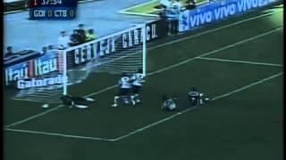 Brasileirão 2005 - Estádio: Serra Dourada - Goiás 2 x 1 Coritiba - Gols do Verdão: Rodrigo Tabata - Público: 9.500 - Imagens: SporTV ...