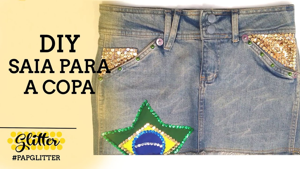 DIY | Customização de Saia