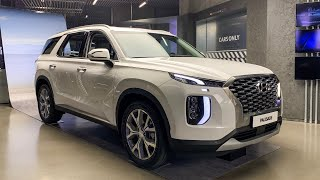 Download Video BIGGEST Hyundai SUV - 2020 Hyundai Palisade Interior&Exterior Tour(7&8 seat configuration) MP3 3GP MP4