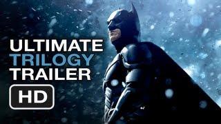 The Dark Knight Rises Ultimate Trilogy Trailer - Christopher Nolan Batman Movie Legacy HD