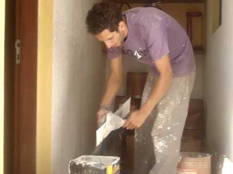 Aplicar textura na parede
