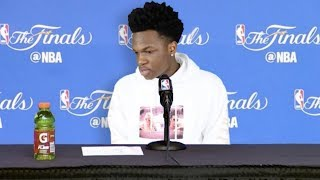 NBA players answer everything but the interview questions