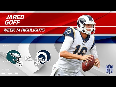 Video: Jared Goff Highlights | Eagles vs. Rams | Wk 14 Player Highlights