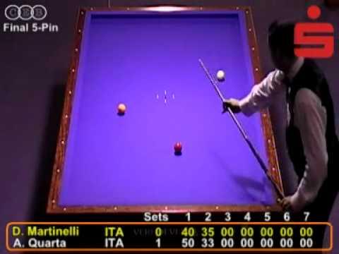 Martinelli vs Quarta - finale - Campionato Europeo 2010, Brandeburgo