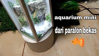 "Video aquarium mini dari paralon bekas""air terjun pasir"".make a mini aquarium, sand waterfall from a pvc p MP3, 3GP, MP4, WEBM, AVI, FLV Mei 2019"