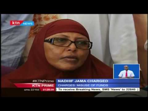 Garrisa Governor Nadhif Jama appeared in court and denied charges of misuse of public funds