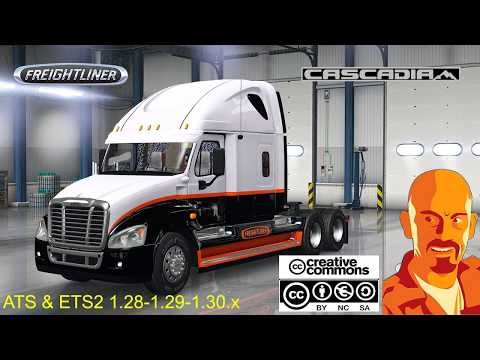 FREIGHTLINER CASCADIA 1.28 - 1.29.x
