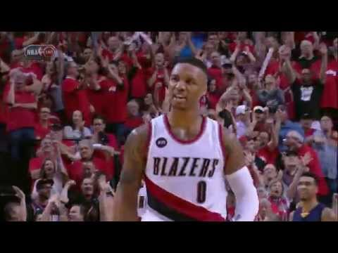 Video: Damian Lillard's Crowd Pleasing Four-Point Play