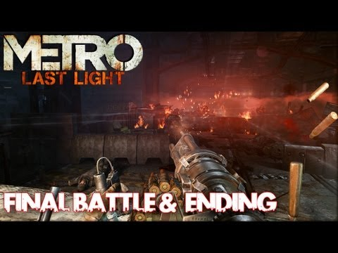 Metro: Last Light - Final Battle & Ending