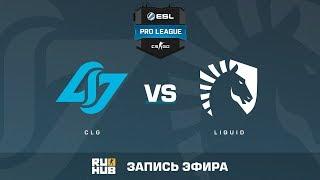 CLG vs Liquid - ESL Pro League S6 NA - de_cobblestone [sleepsomewhile, MintGod]