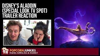 Disney's Aladdin (Special Look TV Spot) Trailer - Nadia Sawalha & Family Reaction