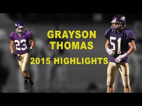Grayson Thomas 2015 Highlight Reel