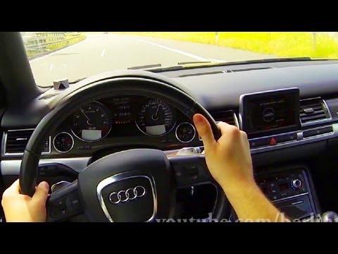 Audi S8 V10 kickdown