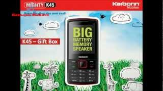 Karbonn K45 Mighty Mobile Phone