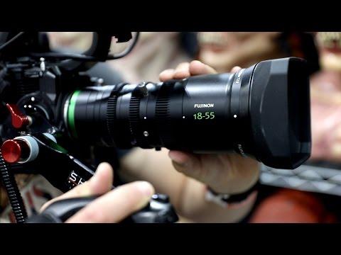 Tested: Fujinon's 18-55mm Cinema Lens (видео)