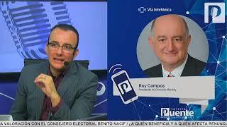 Video AMLO sigue arriba pero salida de Margarita cambia conversación: Roy Campos MP3, 3GP, MP4, WEBM, AVI, FLV Mei 2018