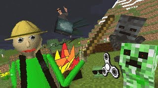 Monster School: Baldi's Basic Field Trip Horror Challenge - Minecraft Animation