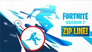 *NEW* Zipline in Season 7 + New Female Skin! (Fortnite Season 7 2nd Teaser)