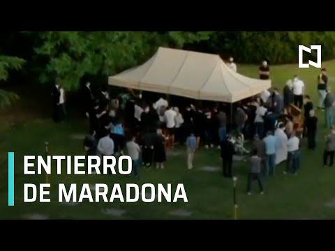 Entierro de Maradona | Funeral de Maradona - Las Noticias