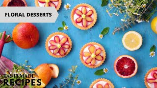 10 Seasonal Floral Desserts That Will Have You Dreaming of Spring Break by Tastemade