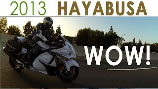 8. 2013 Suzuki Hayabusa REVIEW intro!