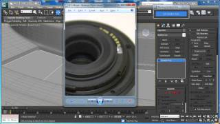 Tutorial: Model The Canon EF-S 55-250mm Zoom Lens In 3D Studio Max: Part 1